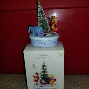 Hallmark 2008 Winnie The Pooh o Christmas tree